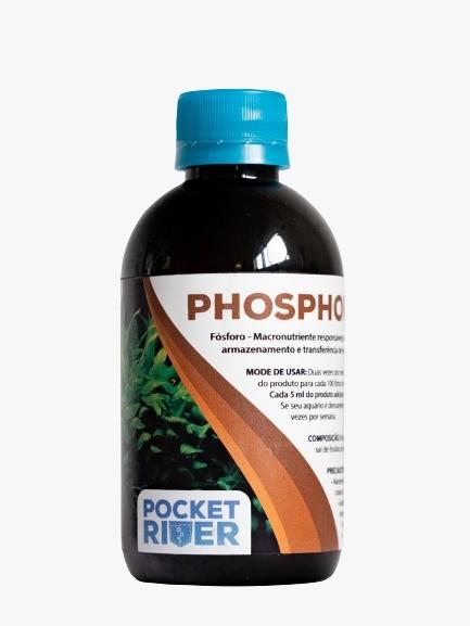 PHOSPHOROS 250ml – Fertilizante liquido POCKET RIVER  - Aquário Estilos