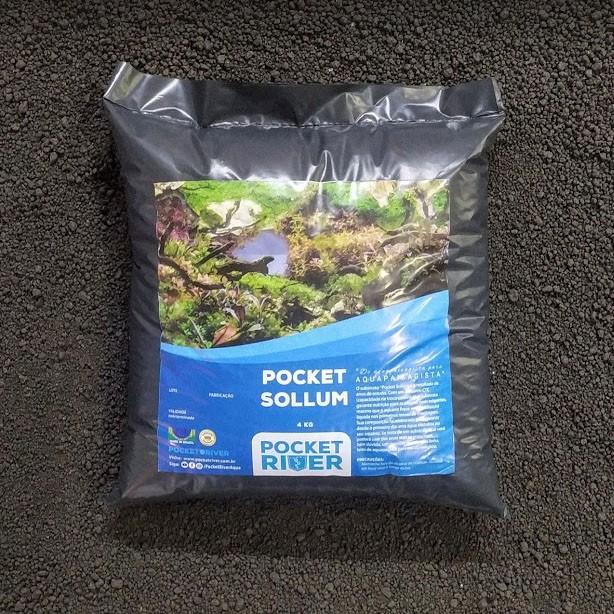 POCKET SOLLUM 4kg Pocket River  - Aquário Estilos