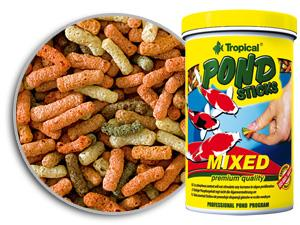 TROPICAL POND STICKS MIXED  - Aquário Estilos