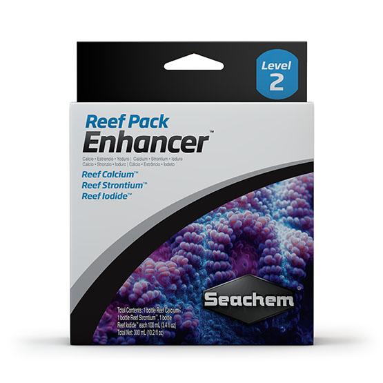 Seachem Reef Pack ™: Enhancer  - Aquário Estilos
