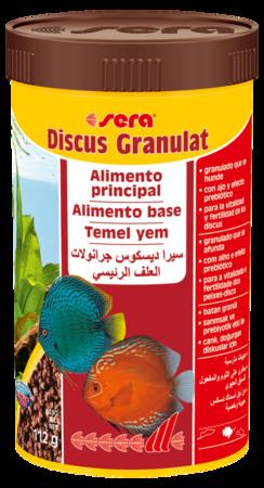 SERA Discus Granulat 116g  - Aquário Estilos