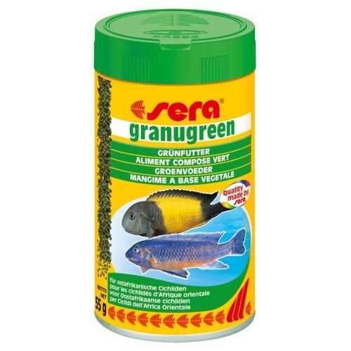 SERA Granugreen 600g  - Aquário Estilos