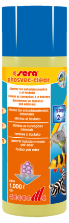 Sera Phosvec•Clear 250mL  - Aquário Estilos