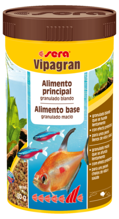 SERA Vipagran 80g  - Aquário Estilos