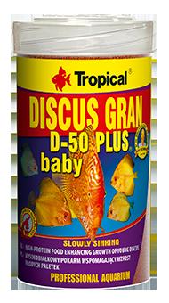 TROPICAL DISCUS GRAN D-50 PLUS BABY  - Aquário Estilos