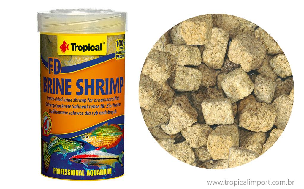 Tropical FD Brine Shrimp  - Aquário Estilos