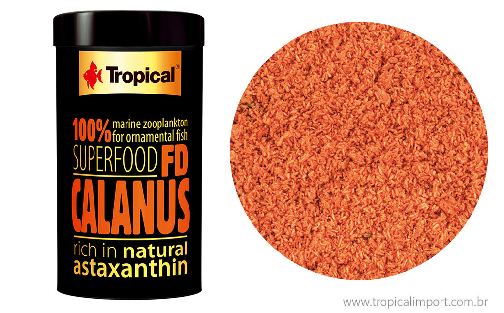 Tropical Fd Calanus 12g  - Aquário Estilos
