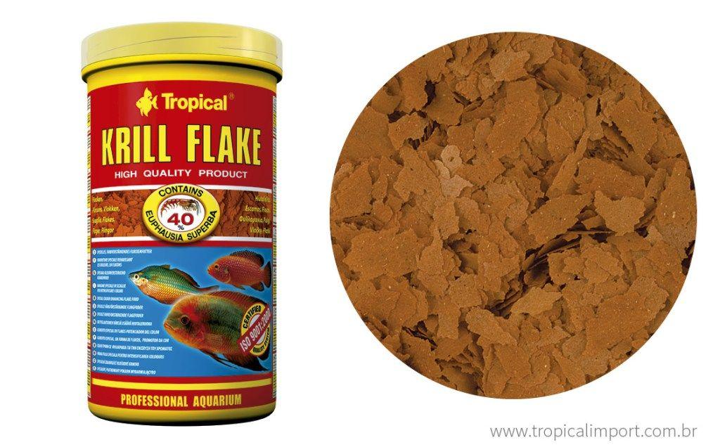 Tropical Krill Flake 20g  - Aquário Estilos
