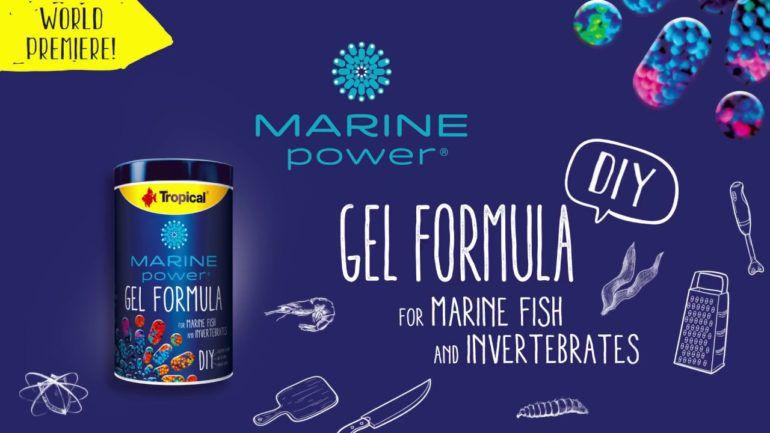 Tropical Marine Gel Formula  - Aquário Estilos