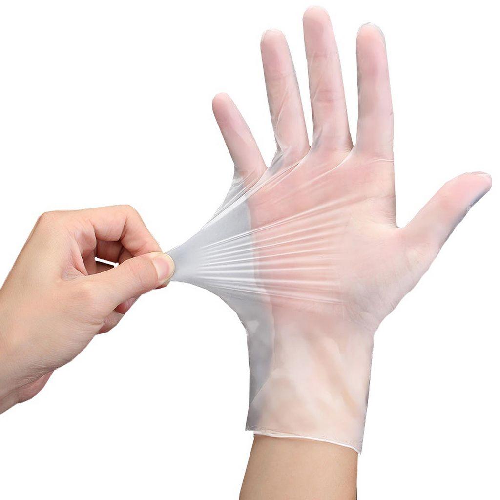 10 Pares Luvas Vinil Branca Atacado Com Pó Proteção Individual Tam M Procedimentos Manicure Cabeleireiro Profissional Plasart