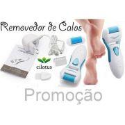 Esfoliador Portátil Pés Cilotus + Kit com 2 Rolinhos Lixas Reposição