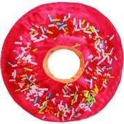 Almofada Decorativa Donuts Aveludada Cheia Diversas Cores Grande Macia 44X44 Formato Rosquinha Imporiente Casita Nova