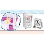 Babá Eletrônica Digital Com Câmera Sem Fio Multikids Baby