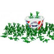 Balde De Soldadinhos Guerra Brinquedos Meninos Boneco Exército Plástico Toy Story Toyng