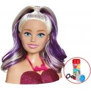 Barbie Boneca De Meninas Busto Acessórios Infantil Styling Head Faces Escova Maquiagem Penteados Bolhas De Sabão Divertido Lançamento
