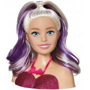 Barbie Boneca De Meninas Busto Acessórios Infantil Styling Head Faces Escova Maquiagem Penteados Divertido Lançamento