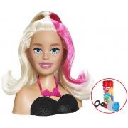 Barbie Boneca De Meninas Busto Acessórios Infantil Styling Head Hair Escova Maquiagem Penteados Bolhas De Sabão Divertido Lançamento