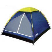 Barraca Camping Iglu 3 Pessoas Acampamento Grande Impermeável Mor