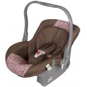 Bebê Conforto Menina Rosa Nino Encaixe Para Carrinho Tutti Baby