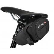 Bolsa Selim Para Bicicleta Ciclismo Capacidade 1L Resistente Á Água Logo Refletivo Poliéster Fixação Fecho Rápido Suporte Para Iluminação Atrio