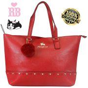 Bolsa Feminina Rebecca Bonbon Original Lado Grande Vermelha Tote Bag Semax