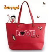 Bolsa Tote Bag Grande Vermelho Love Betty Boop BP2902VM