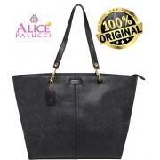 846519925 Bolsa Tote Bag Grande Work Now Alice Palucci Preto AL8805PT