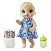Boneca Baby Alive Brinquedo De Menina Hora Do Xixi Loira Com Acessórios Hasbro
