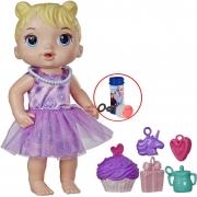 Boneca Baby Alive Brinquedos De Meninas Festa de Presentes Bebê Loira Com Acessórios Bolhas De Sabão Hasbro