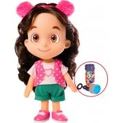 Boneca Maria Clara & Jp Lançamento Infantil Divertido Menina Articulada Youtuber Bolhas De Sabão NovaBrink