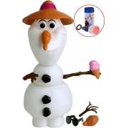 Boneco Olaf 14 Peças Para Montar Desmontar Personalizar Bolhas De Sabão Brinquedo Infantil Menino Menina Frozen Boneco De Neve Disney Elka