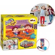 Brinquedo Infantil Meninas Meninos Jogo O Chão É Lava Maria Clara & Jp Divertido Bolhas De Sabão Elka Lançamento