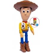 Brinquedo Infantil Meninos Boneco Meu Amigo Woody Eletrônico Fala 8 frases Divertido Bolhas De Sabão Elka Lançamento
