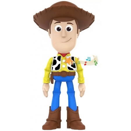 Brinquedo Infantil Meninos Boneco Meu Amigo Woody Eletrônico Fala 8 frases Divertido Elka Lançamento