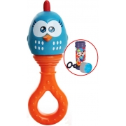Brinquedo Para Bebês Chocalho E Mordedor Galinha Pintadinha Estimulante Macio Barulho Suave Texturas Que Alivia Gengivas Bolhas De Sabão Elka