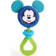 Brinquedo Para Bebês Chocalho E Mordedor Mickey Menino Estimulante Barulho Suave Orelhas Macias +3 Meses Elka