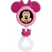 Brinquedo Para Bebês Chocalho E Mordedor Minnie Menina Estimulante Barulho Suave Orelhas Macias +3 Meses Elka