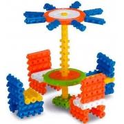 Brinquedo Pino Mágico Para Montar Colorido 100 Peças Estimula Criatividade Coordenação Motora Divertido Menino Menina Elka Novo
