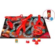 Brinquedo Pista E Atalhos Carros 3D Bolhas De Sabão Jogo Tabuleiro Infantil Para Meninos Divertido Novo