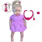Brinquedos De Meninas Boneca Dodói Macia Bolhas De Sabão Infantil Quero Ser Mamãe Acessórios Pupee