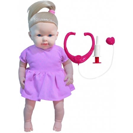 Brinquedos De Meninas Boneca Dodói Macia Infantil Quero Ser Mamãe Acessórios Pupee