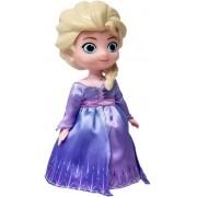 Brinquedos De Meninas Boneca Elsa Frozen 2 Dançarina Com Música Luzes Infantil 20 Cm Lançamento Disney Toyng