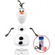 Brinquedos De Meninas Meninos Olaf Infantil 3 Expressões Faciais Adesivos De Flocos De Neve Brilham No Escuro Bolhas De Sabão Frozen 2 Toyng
