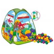 Brinquedos De Meninos Infantil Barraca Dobrável Dinossauro 50 Bolinhas Toca Portátil Pop Up Cabana Fácil Montagem Fabrincando Ideias
