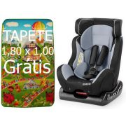 Cadeira Para Auto Size4me Weego 0-25 Kg Cinza Com Tapete De Atividades Infantil Bebê Em EPE Emborrachado