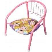 Cadeirinha Infantil Das Princesas Meninas Rosa Divertida Assento Macio Pequena Disney Para Crianças Ferro Nova