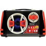 Caixa Amplificadora ACA 110 65W Rms Bluetooth Usb Rádio Micro Sd Original AMVOX