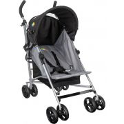 Carrinho De Passeio Easy Bebê Confortável Cinza Tutti Baby