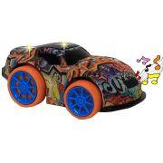 Carrinho Eletrônico Super Cartoon Car Bate Volta Colorido Acende Luz 3D Musical Pequeno Ultiliza 3 Pilhas AA Original Toy Car Vip Toys