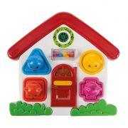 Casinha Didática Criança Infantil Musical Brinquedo Para Bebes Original Poliplac 5801